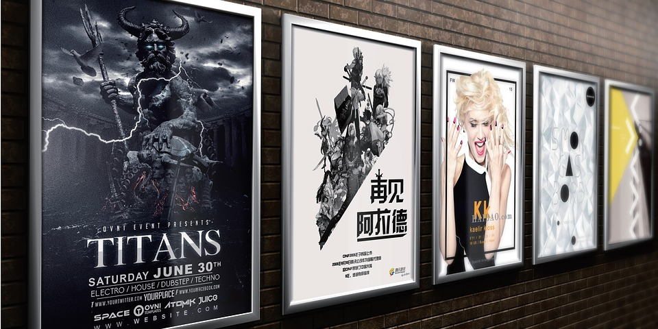 Posters – wall posters for advertising