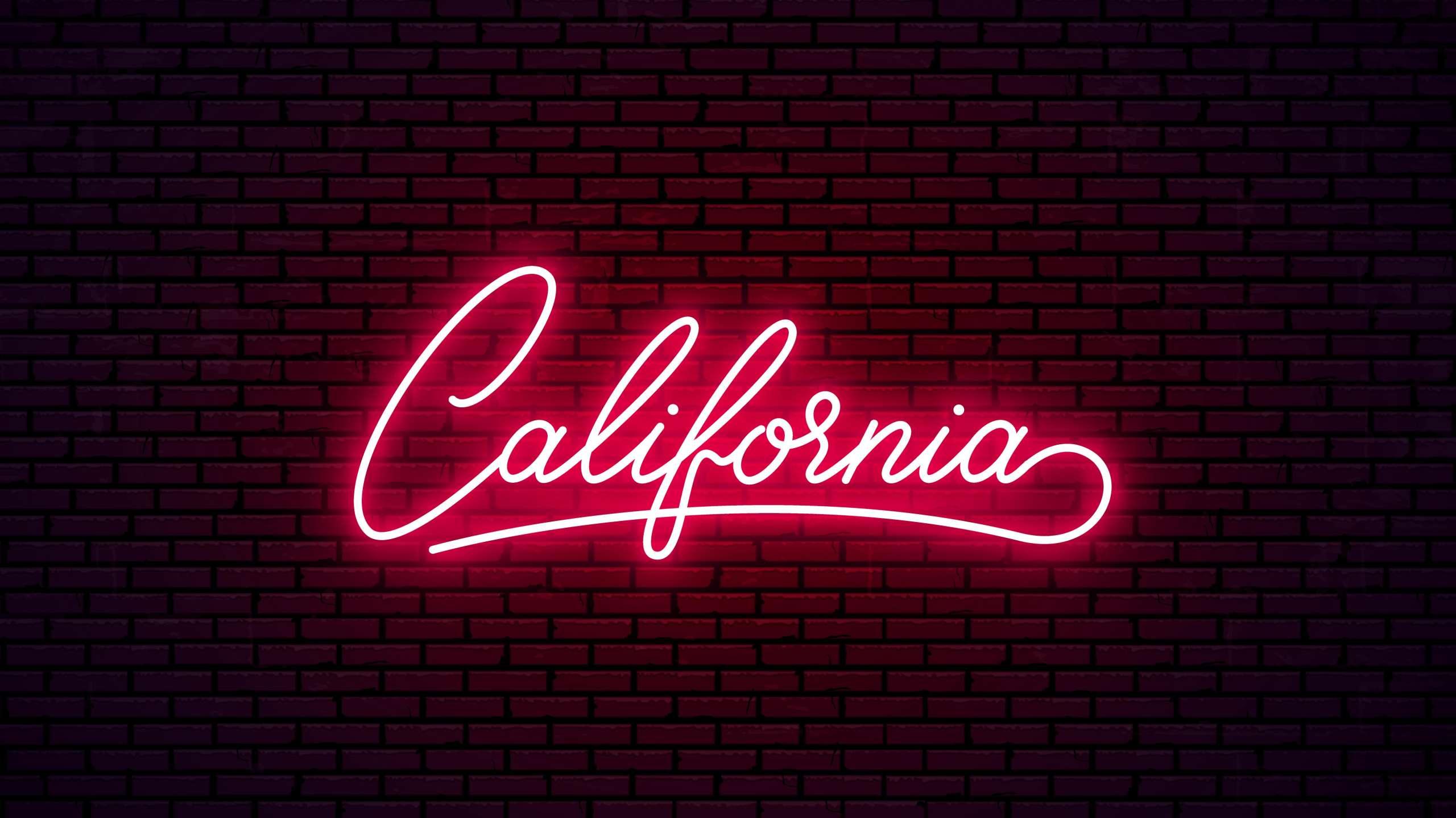 California- California led sign board