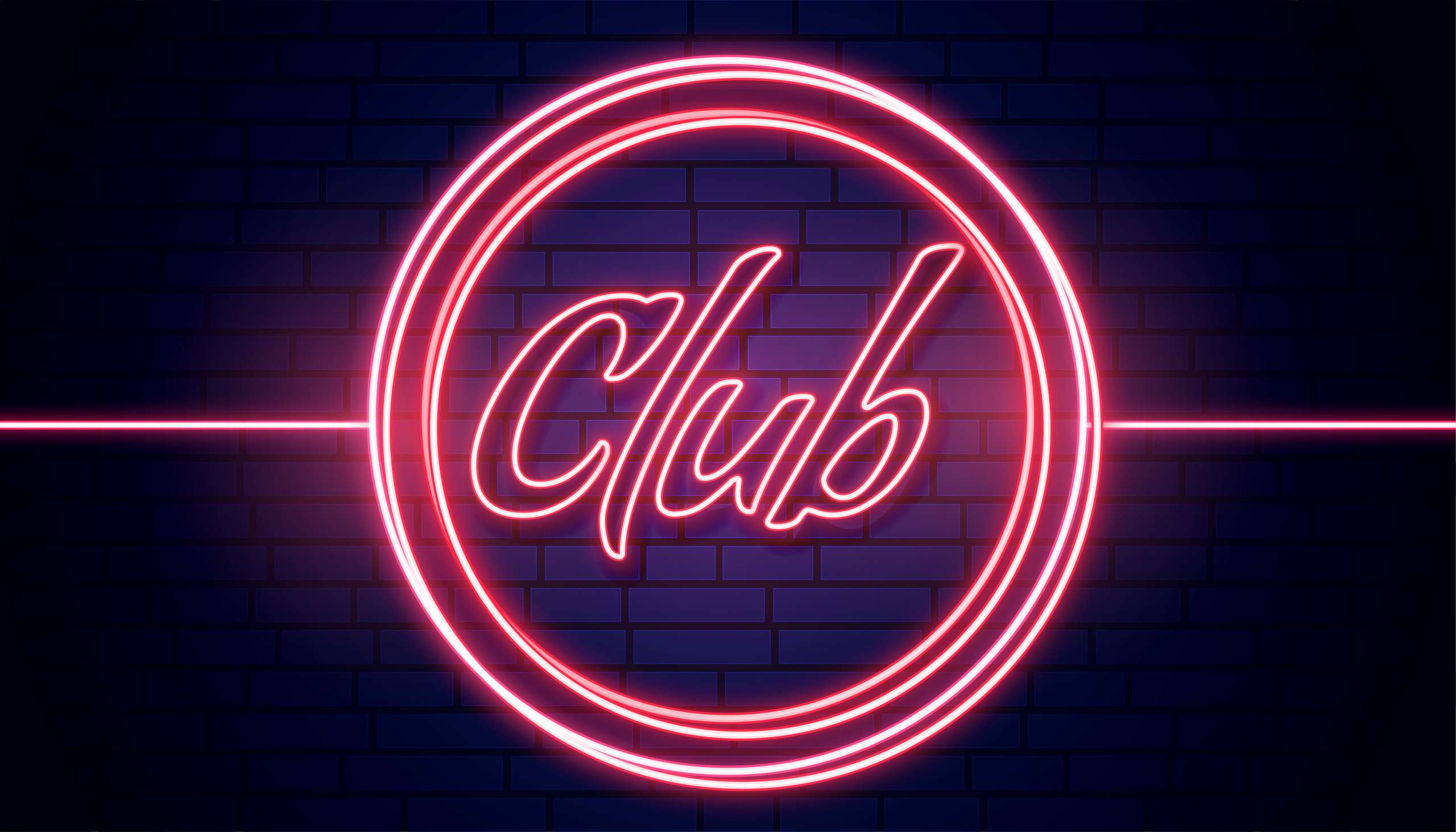 club - club led signage